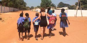 Gambiya'da Okul İnşası