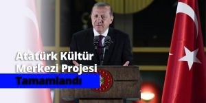 Atatürk Kültür Merkezi Prejesi Tamamlandı