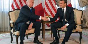 Macron ve Trump anlaştı: Ortak vururuz!
