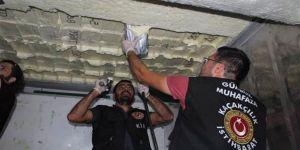 Mersin Limanı'nda kokain baskını