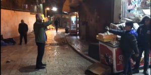 "Kudüs'te İsrail karakoluna ""Erdoğan marşı"" dinletmek"