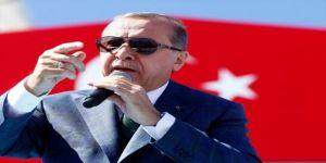 """Erdoğan """"bayrakları biz size teslim etmek zorunda kalmayalım"""""""