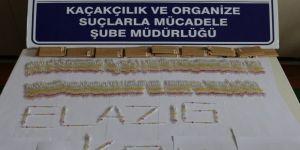 Elazığ'da 280 tüp kobra zehri ele geçirildi