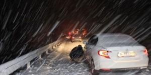 Erzincan-Sivas karayolu ulaşıma kapandı