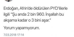 Saadet Partisinin avukatın'dan skandal twit