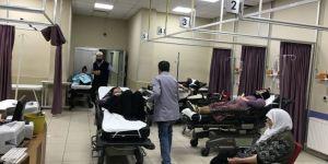 Adıyaman menzil'e giderken kaza geçirdiler.4 ölü 34 yaralı