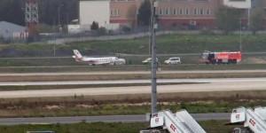 Kerimcan Durmaz da uçaktaydı: Yangın çıktı