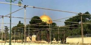 Mescidi Aksa'da Ramazan Hazırlıkları