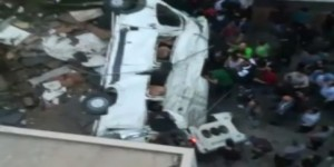 Kağıthane'de Korkutan Kaza