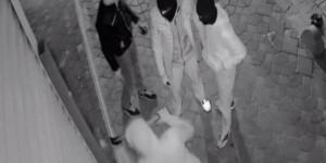 Balyozlu Hırsızlar Kamerada