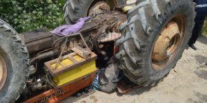Adıyaman'ın Besni ilçesinde 3 Çocuk Babası Traktörün Altında kaldı