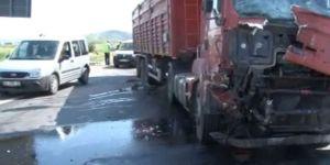 İstanbul'da TEM Otoyolunda Trafiği Kilitleyen Kaza: 2 Ölü