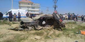 Konya'nın Akşehir ilçesinde Korkunç Kaza: Aynı Aileden 4 Ölü