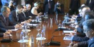 Dışişleri Bakanı Çavuşoğlu Rus Mevkidaşı İle Görüştü