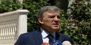 """Abdullah Gül """"Aktif Siyasette olmayacağımı birçok kez söyledim"""""""