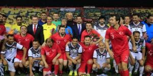 Türkiye İle Irak Arasında Dostluk Maçı