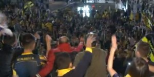 Ankaragücü Taraftarı Süper Lig Coşkusunu Yaşadı