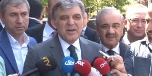 Abdullah Gül'den Hulusi Akar'ın Ziyaretiyle İlgili Açıklama