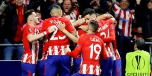 Atletico Madrid Ve Marsilya Finalde
