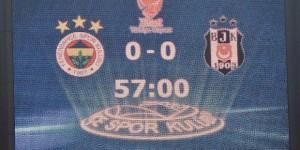 Fenerbahçe - Beşiktaş Maçı İptal Edildi