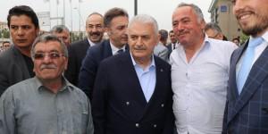Başbakan Yıldırım, Kto Ve Kayso'yu Ziyaret Etti