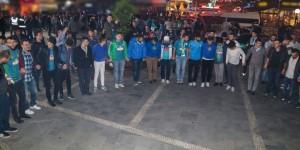 Rize'de Şampiyonluk Kutlamaları