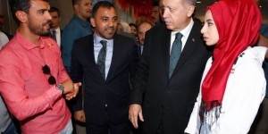 Erdoğan Şampiyon Sporcularla Bir Araya Geldi