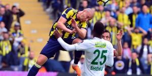 Fenerbahçe 90'da Güldü
