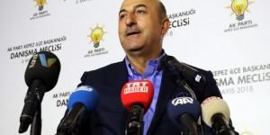 Çavuşoğlu'ndan Sarkozy'e Sert Tepki