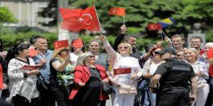 Bosna'da Erdoğan'a Sevgi Seli