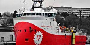 Barbaros Karadeniz'de doğalgaz buldu