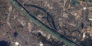Türk mühendislerce tasarlanıp geliştirilen Rasat uydusu Viyana'yı görüntüledi