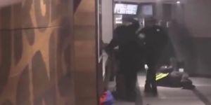 Fransız polisi Sarı Yelekliler'i restoranda yakalarsa