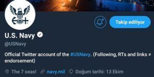 Amerika Birleşik Devletleri Donanması neyin mesajını veriyor