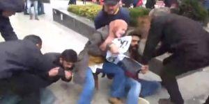 Başörtülü bacımızı taciz ettiler iddiası üzerine Polis görüntüleri yayınladı