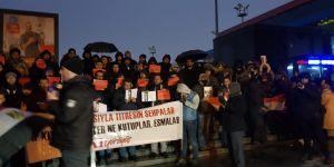 Taksim'de Mısır'daki darbeci Sisi'nin yaptırdığı idamlara tepki gösterildi.