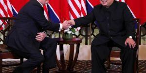ABD Başkanı Donald Trump ve Kuzey Kore Lideri Kim, ikinci kez bir araya geldi.