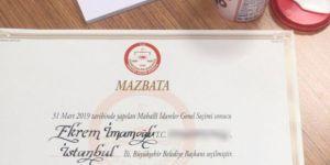 CHP'nin adayı Ekrem İmamoğlu 17 gün sonra mazbatasını aldı