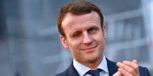 Fransa Cumhurbaşkanı Emmanuel Macron,YPG'li heyet ile bir araya geldi.