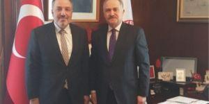 AK Partili o isimden CHP'ye geçmiş olsun ziyareti
