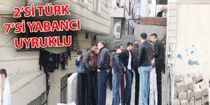 Küçükçekmece'deki istismar olayında 7 yabancı 2 Türk gözaltında