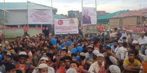 Arakanlı müslümanlar Türkiye ve Binali Yıldırım için dua etti