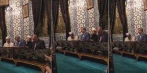 Cumhurbaşkanı Erdoğan'dan Eyüp Sultan'da seçim öncesi dua