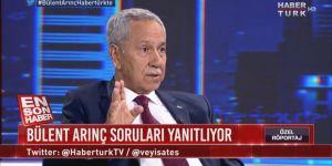 Bülent Arınç bu soruşturmanın Ali Babacan'a yarayacağını söylemişti