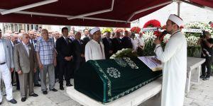 Eski İBB Sekreteri Tuğrul Erkin son yolculuğuna uğurlandı