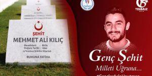 Şehit Mehmet Ali Kılıç'ın annesi:Oğlumun mirası bu vatana sahip çıkın