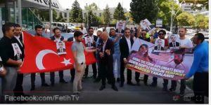 ABD Büyükelçiliği önünde Osman Köse'nin şehit edilmesini protesto ettiler