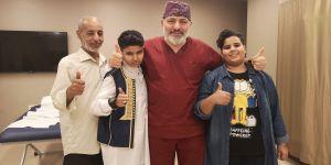 Trafik kazası sonrası yatağa bağımlı kalacaktı Türkiye'de yürüdü