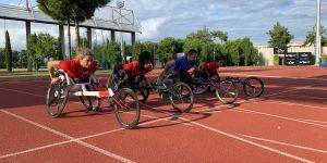 Engelli sporcular Dubai'de düzenlenecek olan  dünya şampiyonası için kampa girdi