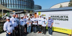 15 Ekim Dünya Beyaz Baston Görme Engelliler Günü'nde anlamlı bir etkinlik